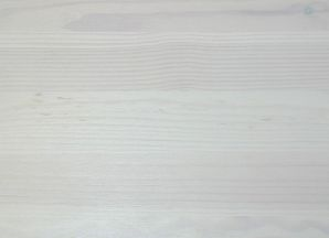 Vollholz Sitzbank Bank 160 cm Guldborg - Holz Kiefer massiv weiß lasiert