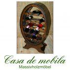 Massivholz Weinregal Flaschenregal Kolonial 19 Holz Fichte massiv DECOR lackiert