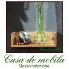 Massivholz Wandboard Buche / Kernbuche massiv TAKE IT! Wandregal natur geölt