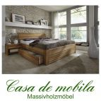 Massivholz schubkastenbett 180x200 easy sleep eiche massiv ge lt 9418 93 52 3 - Schubladenbett 140x200 ...