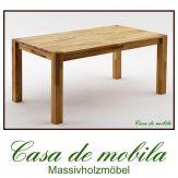 Massivholz Esstisch Tisch Kernbuche massiv geölt vollholztisch FRITZ - 160x90