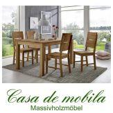Massivholz Esstisch Tisch 140x90 Kernbuche massiv geölt - Buche Küchentisch DIEZ