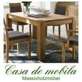 Massivholz Esstisch Tisch  160x90 Kernbuche massiv natur geölt GECS V3.2