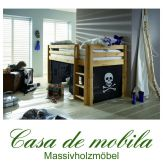 massivholz hochbetten und etagenbetten. Black Bedroom Furniture Sets. Home Design Ideas