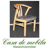 Massivholz Armlehnstuhl gepolstert Kiefer massiv lackiert FARO stuhl mit armlehne Holzstuhl Esszimmerstuhl