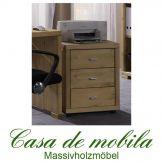 rollcontainer aus massivholz. Black Bedroom Furniture Sets. Home Design Ideas