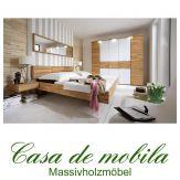 Massivholz Schlafzimmer komplett Kernbuche massiv geölt MERCUR II - Schwebebett 140x200