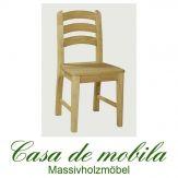 2er-Set Stuhl Set Kiefer massiv gelaugt geölt Stühle Kiefernstühle IG GULDBORG